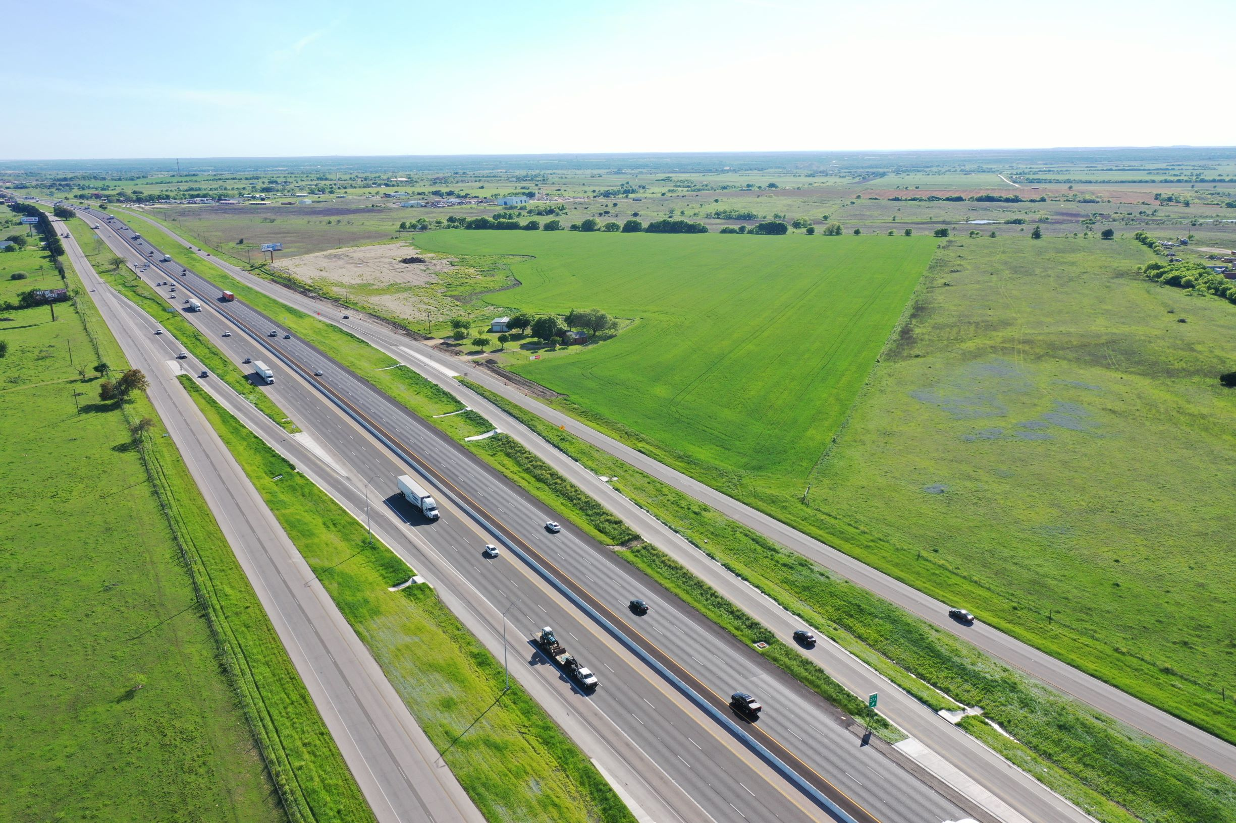 New Ramps south of Bud Stockton Loop - April 2, 2020