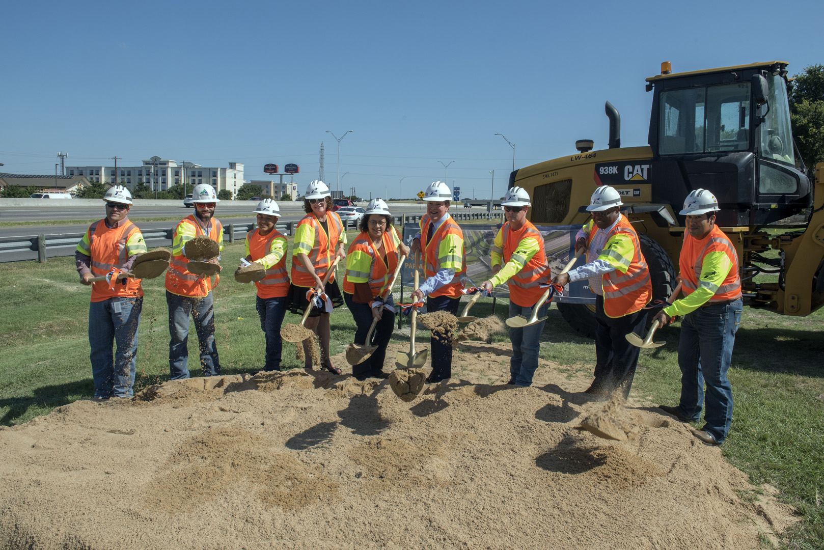 I-35 at Parmer Lane groundbreaking ceremony